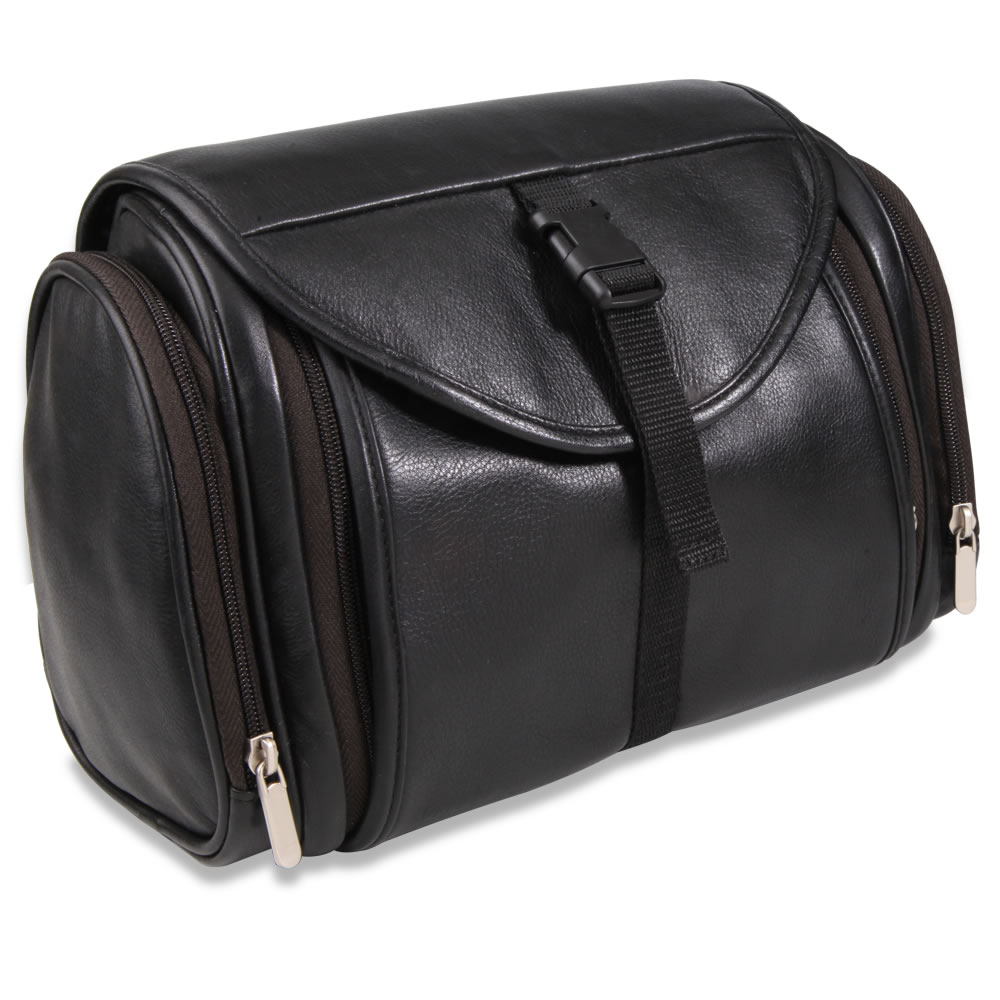 The Gentleman's Superior Leather Toiletry Bag 2