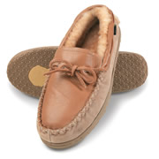 The Mongolian Shearling Moccasins (Men's).