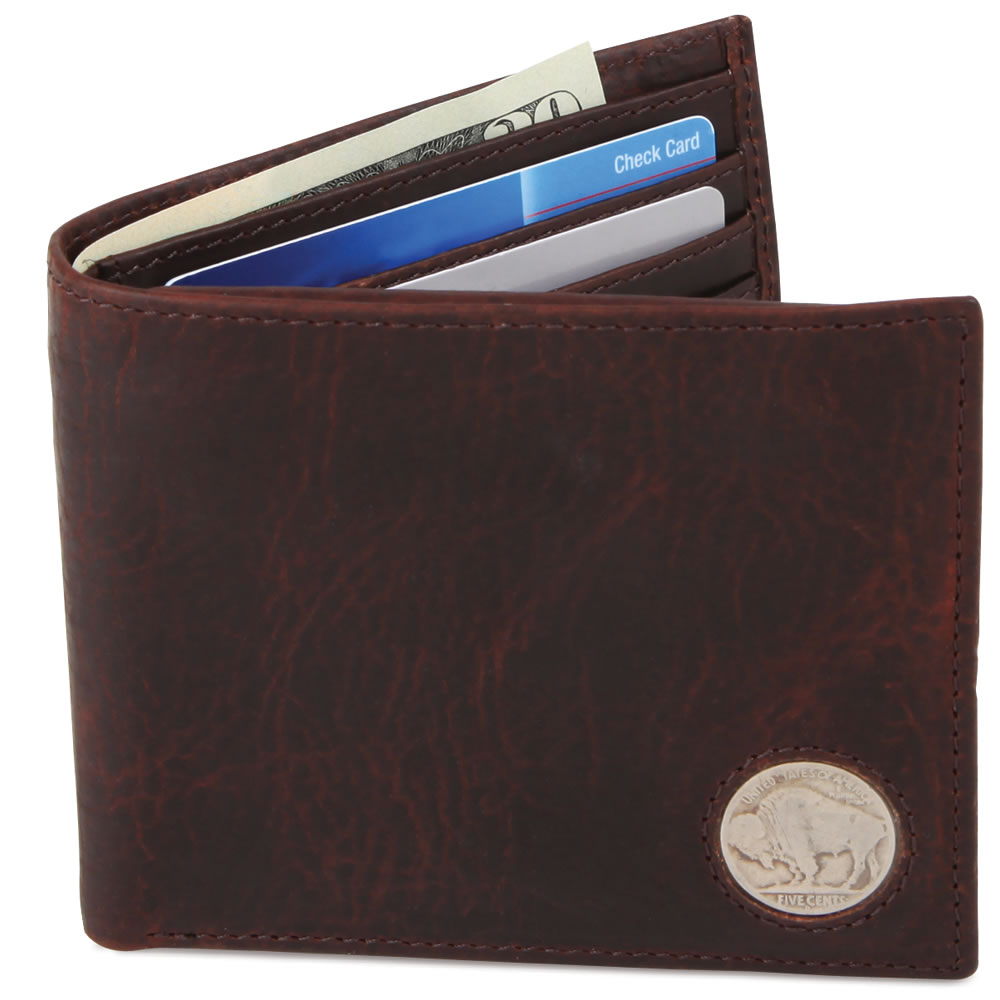 The Genuine American Buffalo Leather Wallet 1