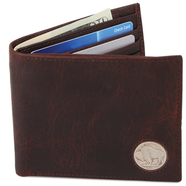 The Genuine American Buffalo Leather Wallet.