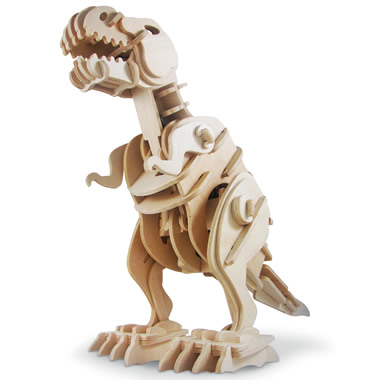 The Wooden Animatronic Tyrannosaur.