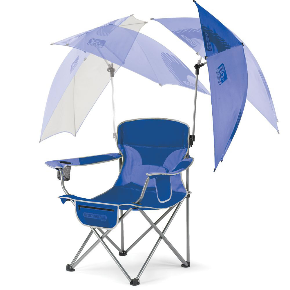 Adjustable Umbrella Sports Chair (Without Ottoman) 2