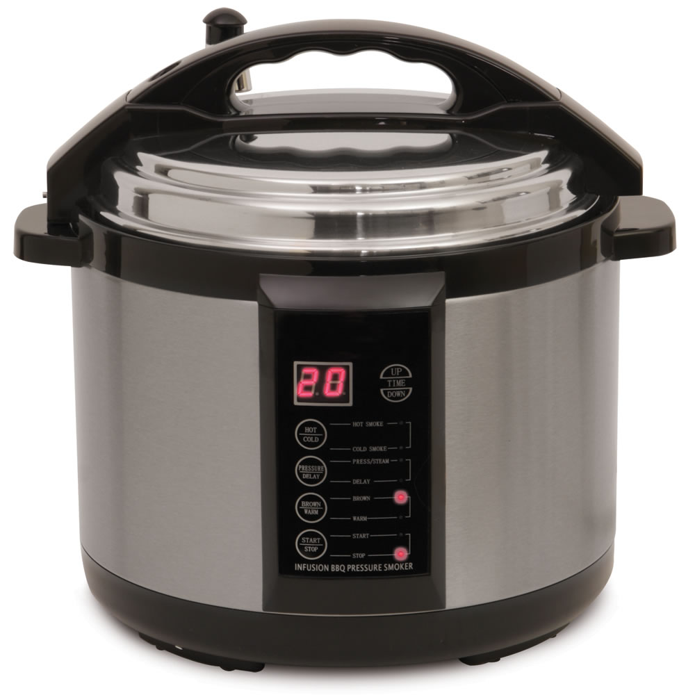 caiman pressure cooker with smoker manual