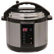 The Only 5-Quart Indoor Pressure Smoker.