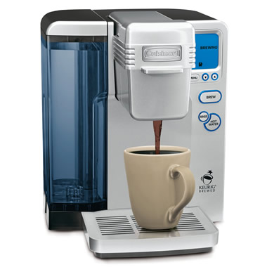 The One Touch Single Serving Coffee Maker