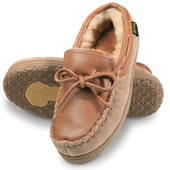 The Mongolian Shearling Moccasins (Women's).