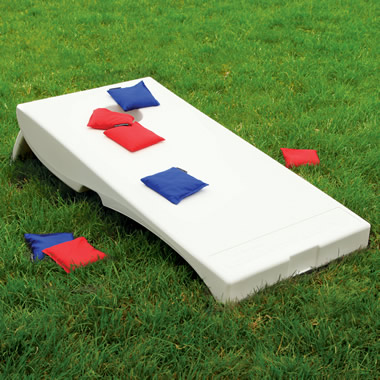 The Weatherproof Bean Bag Toss Game.