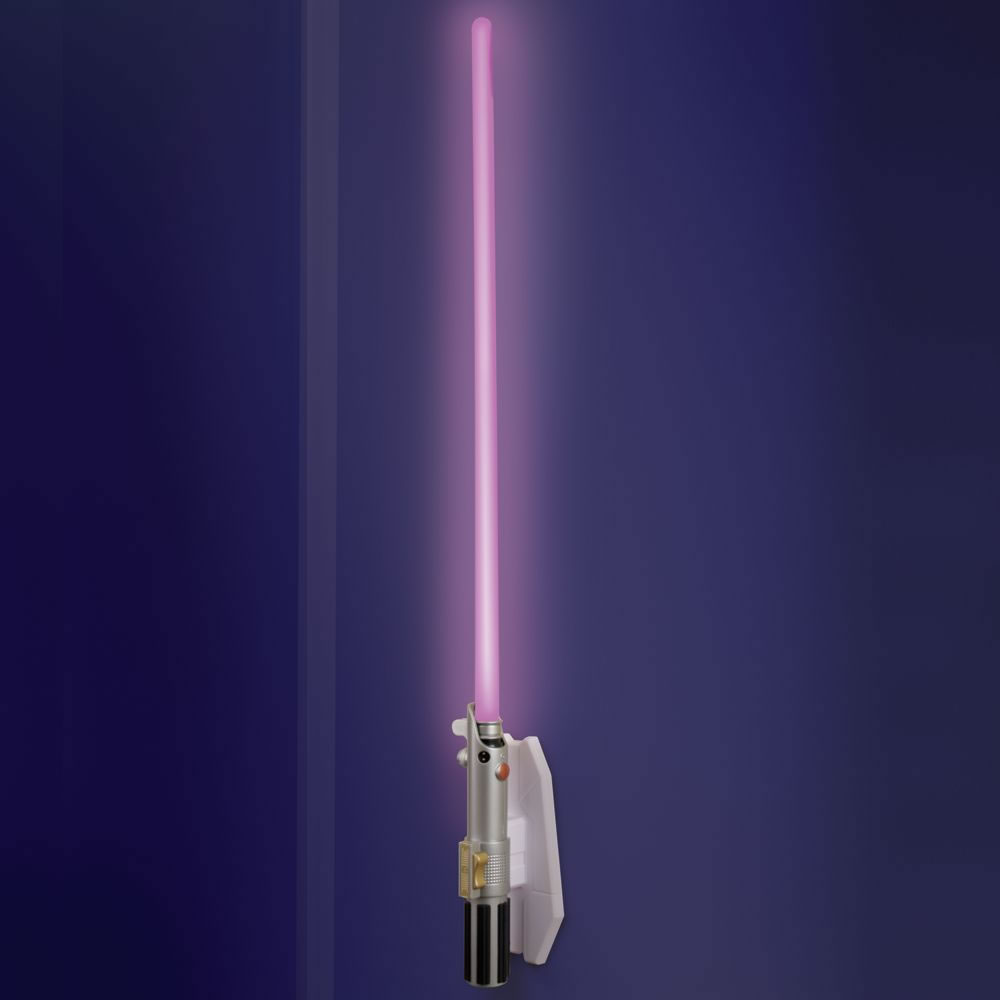 Klaffs Wall Sconces : The Lightsaber Wall Sconce - Hammacher Schlemmer