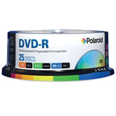 25 DVD-R Discs.