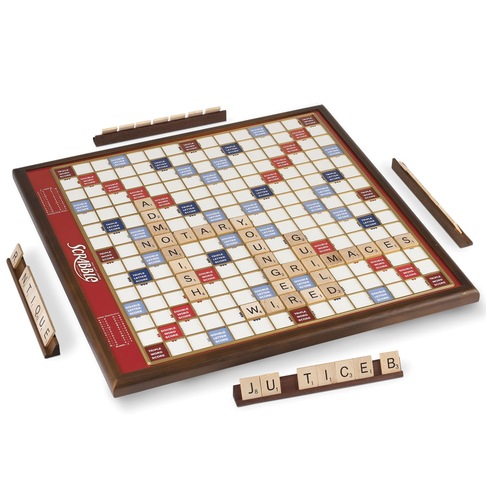 The Rotating Oversized Scrabble Game 1