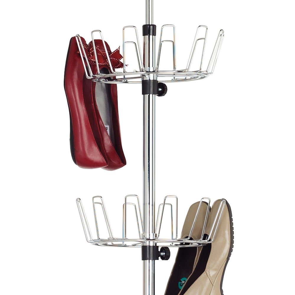 The Space Saving 36 Pair Shoe Rack2
