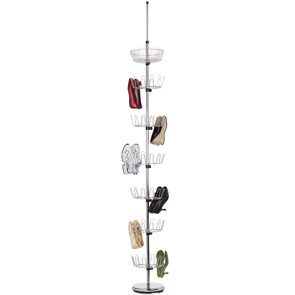 The Space Saving 36 Pair Shoe Rack 1