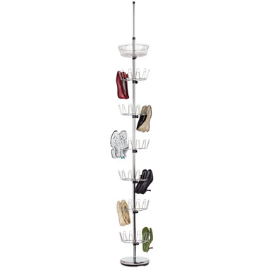 The Space Saving 36 Pair Shoe Rack