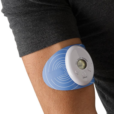 The Cordless Electrotherapy Pain Reliever.