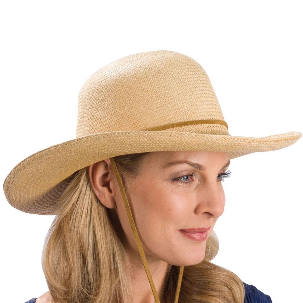The Lady's Packable Panama Hat 1