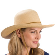 The Lady's Packable Panama Hat.