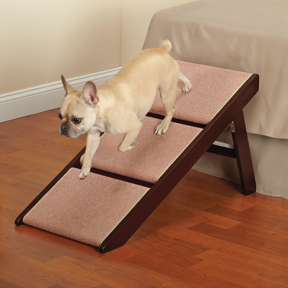 Exceptional Steps For High Beds Part - 13: The Fortunate Pet Ramp And Staircase (Three Step)