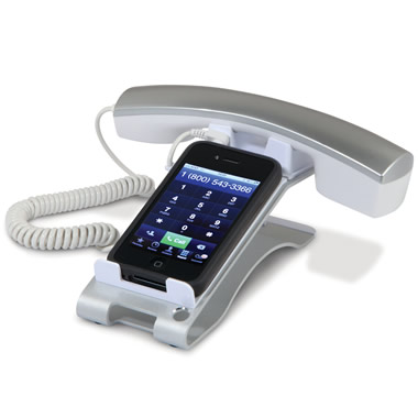 The iPhone Desktop Handset.