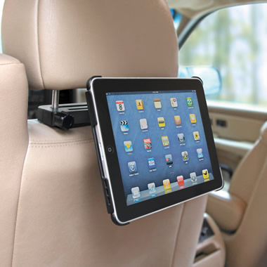 The iPad Car Headrest Cradle.