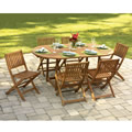 The Foldaway Patio Table And Chairs.