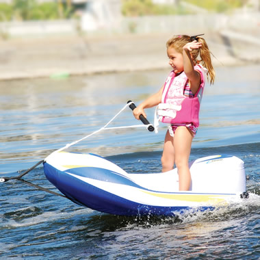 The Children's Water Ski Trainer.
