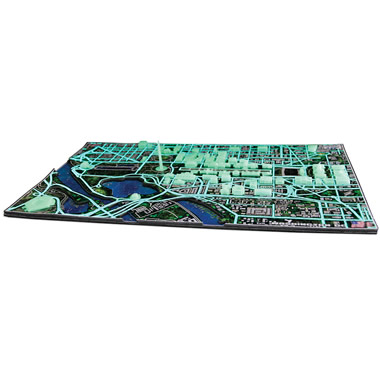 The Only Luminescent 4D Washington D.C. Skyline Puzzle.