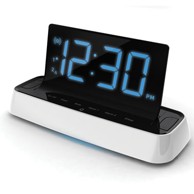 The Voice Interactive Alarm Clock Radio.