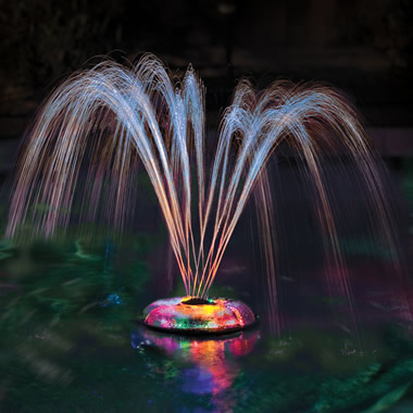 The Floating Light And Water Show.