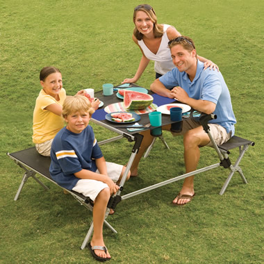 The Portable Instant Picnic Table.