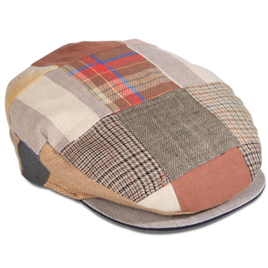 The Irish Linen Patchwork Cap.