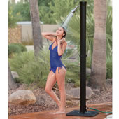 The Adjustable Temperature Outdoor Shower.