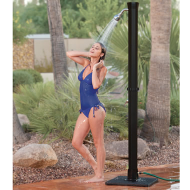 The Adjustable Temperature Outdoor Shower