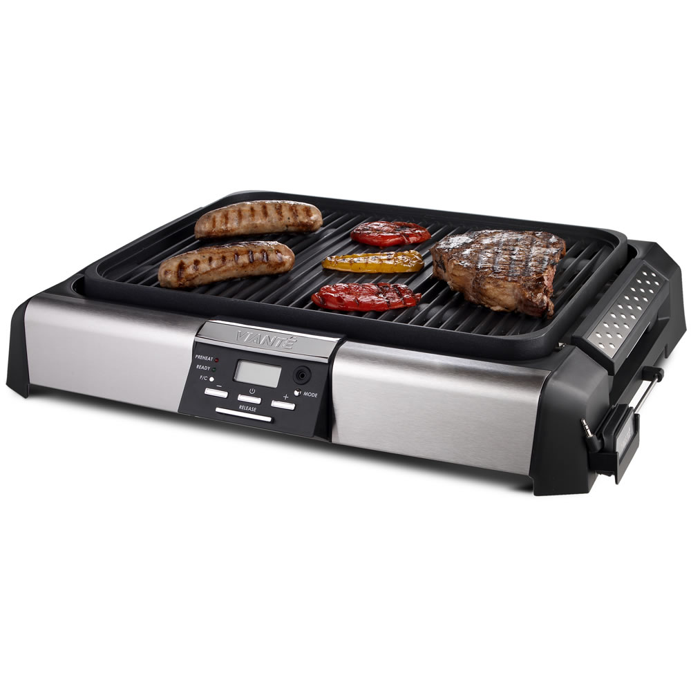 Electric Grill Griddle ~ Electric grill the full meal griddle