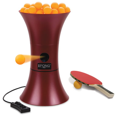 The Oscillating Table Tennis Trainer.
