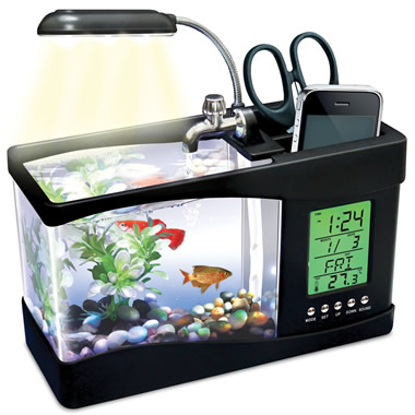 The Non Virtual USB Aquarium.