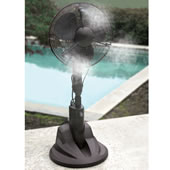 The Evaporative Misting Fan.