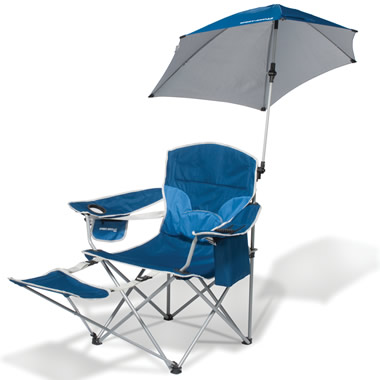 The Infinitely Adjustable Umbrella Sports Chair.