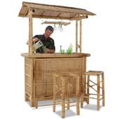 The Genuine Bamboo Tiki Bar.
