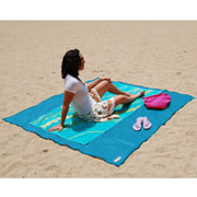 The Sandless Beach Mat.