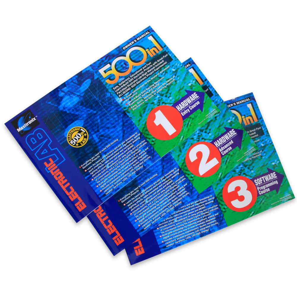 The 500 In One Electronics Experiment Kit 2