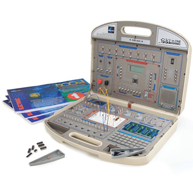 The 500 In One Electronics Experiment Kit.