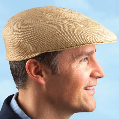 The Packable Panama Driving Cap.