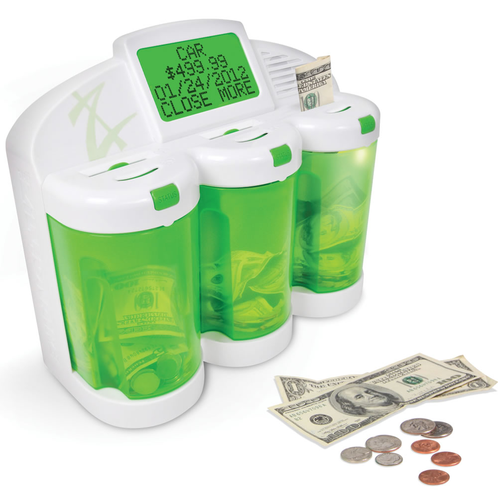 The Financial Acumen Piggy Bank Hammacher Schlemmer