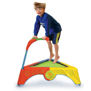 The Jump And Learn Trampoline.