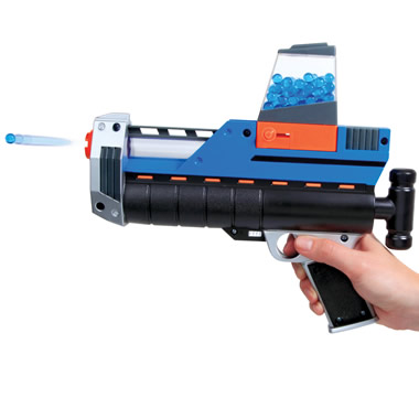 The Waterball Cannons.