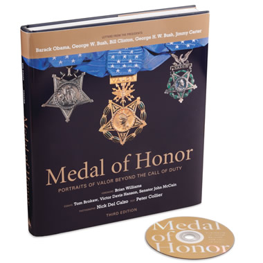 The Medal Of Honor Recipients Portrait Book.
