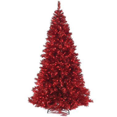 The 7 1/2 Foot Prelit Crimson Tree