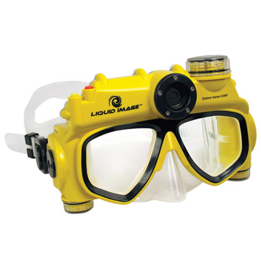 The Digital Camera Swim Mask.