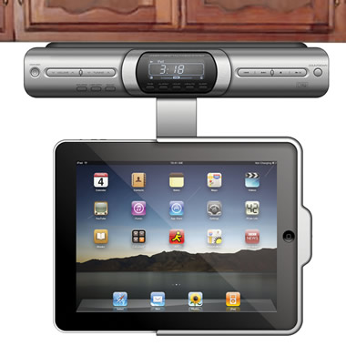 The Under Cabinet iPad Dock.