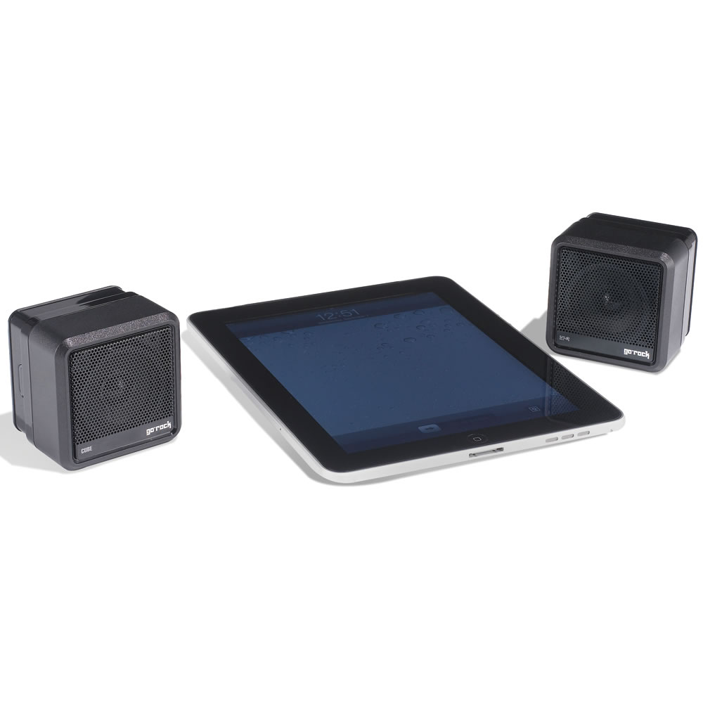 the wireless surround sound speakers hammacher schlemmer. Black Bedroom Furniture Sets. Home Design Ideas